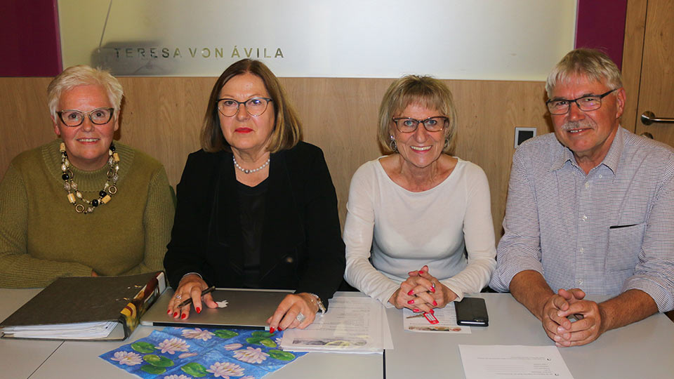 Der Vorstand: Förderverein Haus des Lebens e.V.